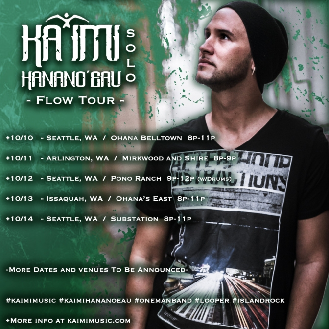 Flow Tour Coming Fast
